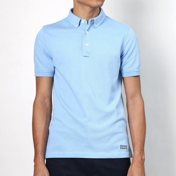 Active Polo - Pastel Blue - Friday People - 1