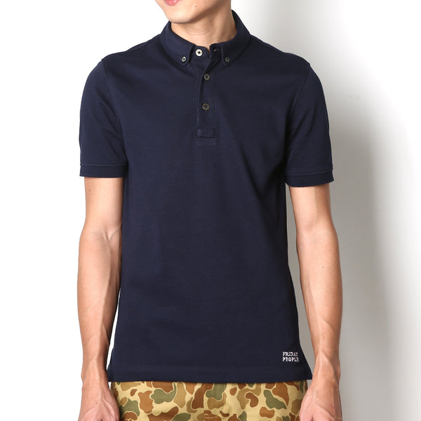 Active Polo - Navy - Friday People - 1