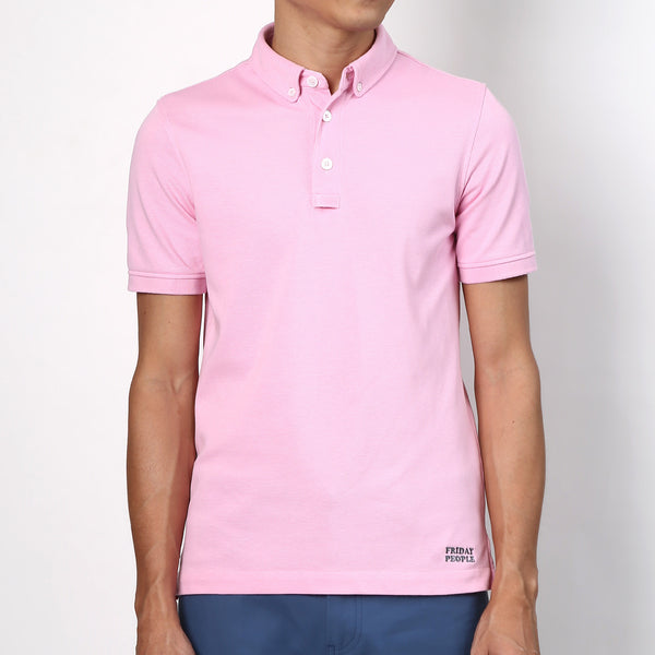 Active Polo - Pastel Pink - Friday People - 1