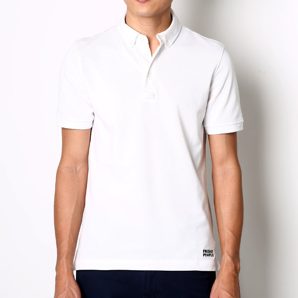 Active Polo - White - Friday People - 1