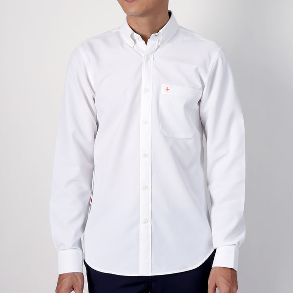 Active Shirt - White - Friday People - 1