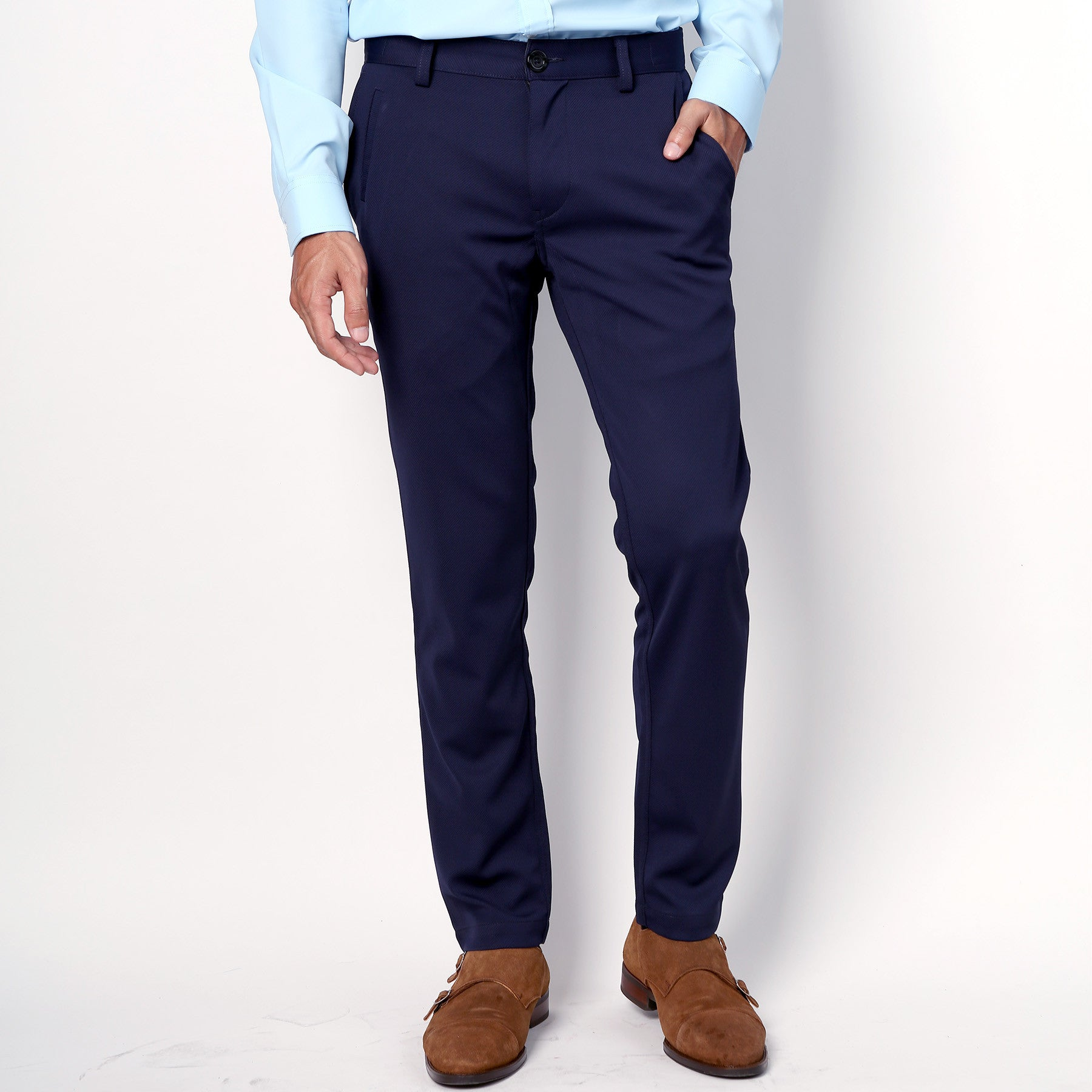 Active Trousers - Navy - Friday People - 1