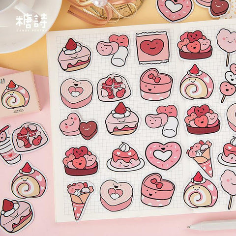 Cute Sweets Stickers