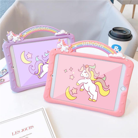 Rainbow Animal Ipad Cases