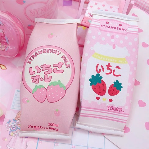 Strawberry Box Pencil Case