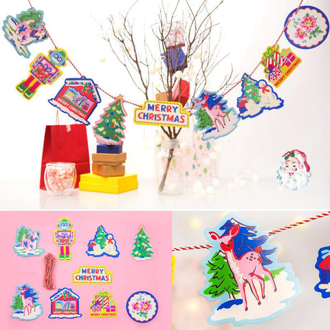 Bentoy Christmas Party Color Flag