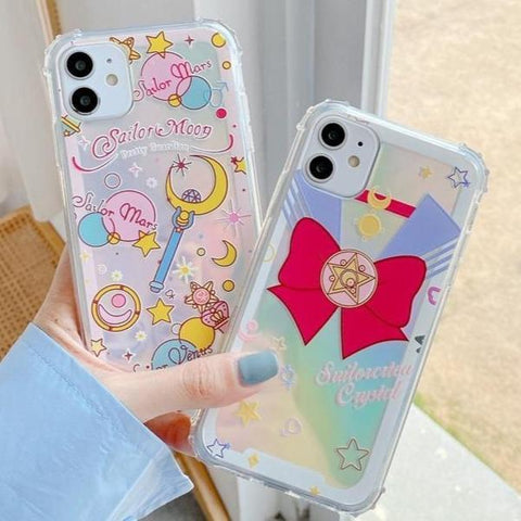 Magic Girl Laser Phone Case