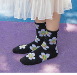 Cute Sun Flower Socks
