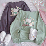 Butterfly And Cat Hoodie