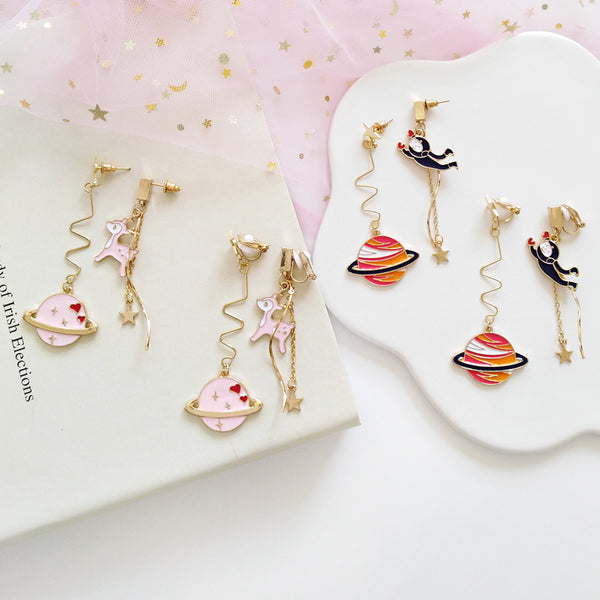 Color Planet Animal Earrings