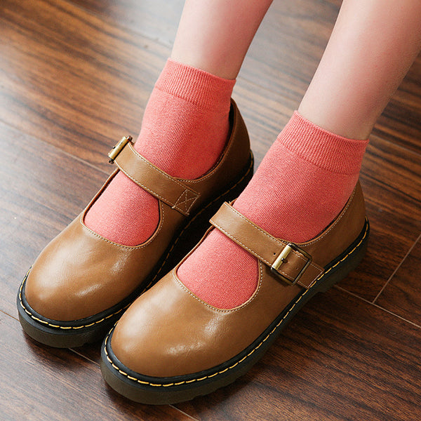 Korea Cotton Short Socks