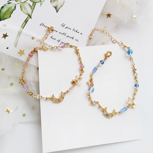Star And Moon Bracelet