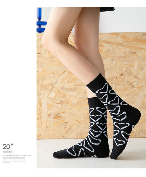 Japanese Style Love Socks