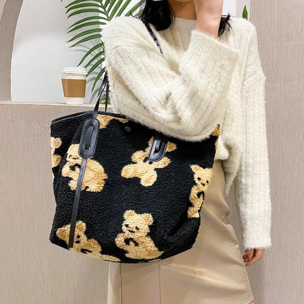 Kawaii Bear Shoulder Bag
