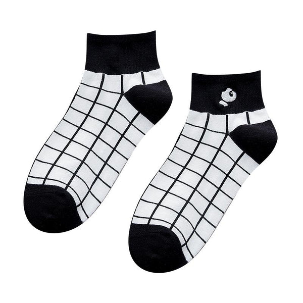 White Panda Socks