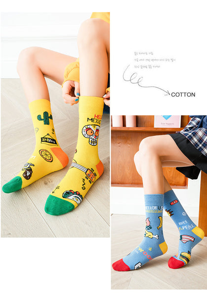 New Fashion Cartton Socks