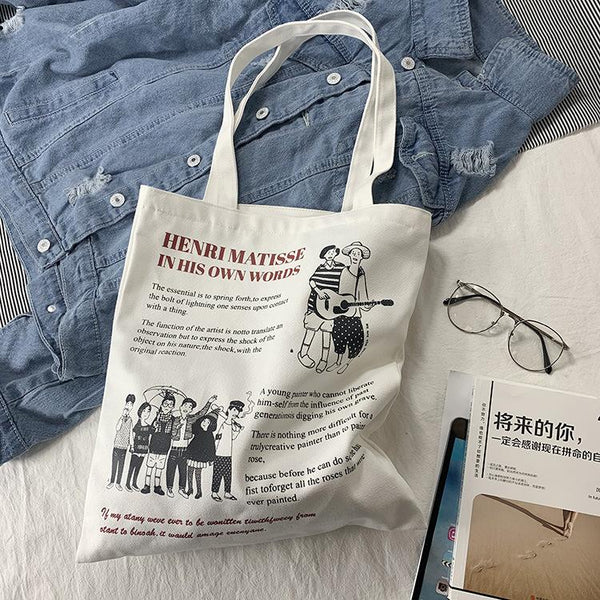 Own Words Tote Bag