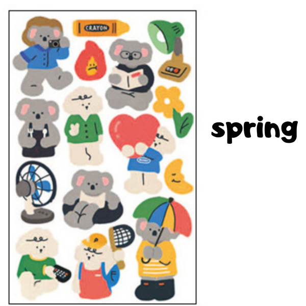 Animal Friends Stickers