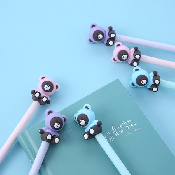 Sweatshirt Bear Gel Pen-3pcs