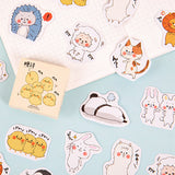 Animal League stickers