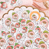 Strawberry Head Sister Sticker