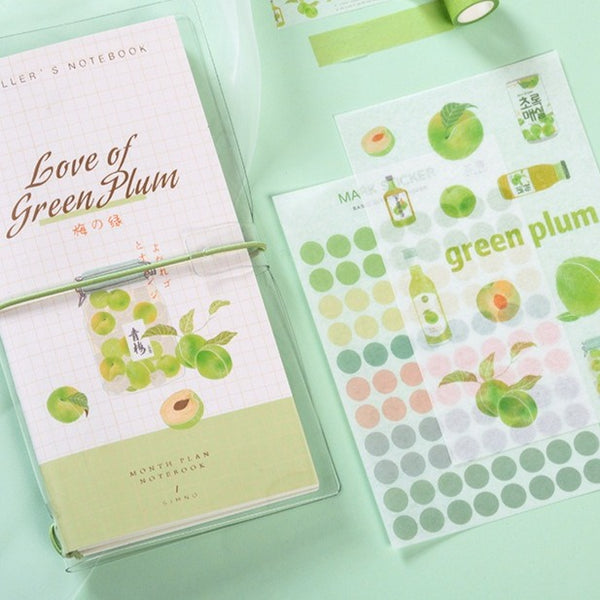 Fruit Tea Notebook Set