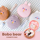 Bentoy Round Cute Cosmetic Bag
