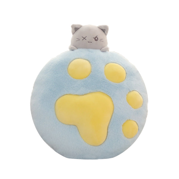 Cat Paw Plush Pillow Doll