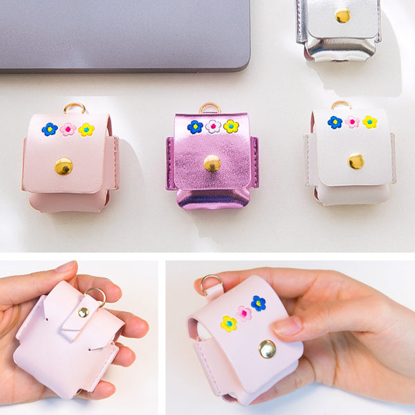 Milkjoy Airpod Bag Flower Earphone Bag