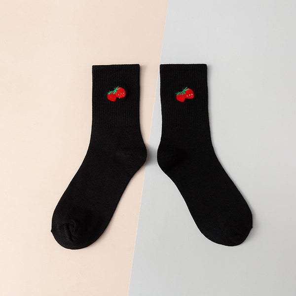 Fashion Cute Fruit Socks