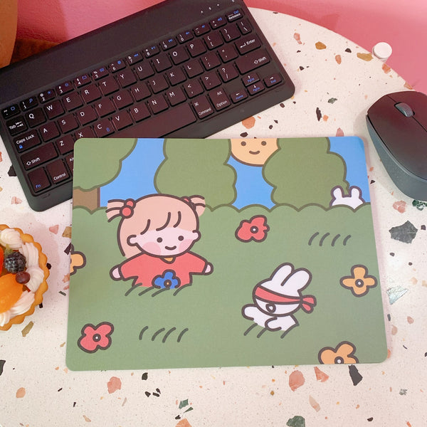 Girl's Life Mouse Pad