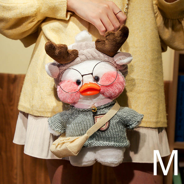 DUDUDUCK Plush Doll Bag