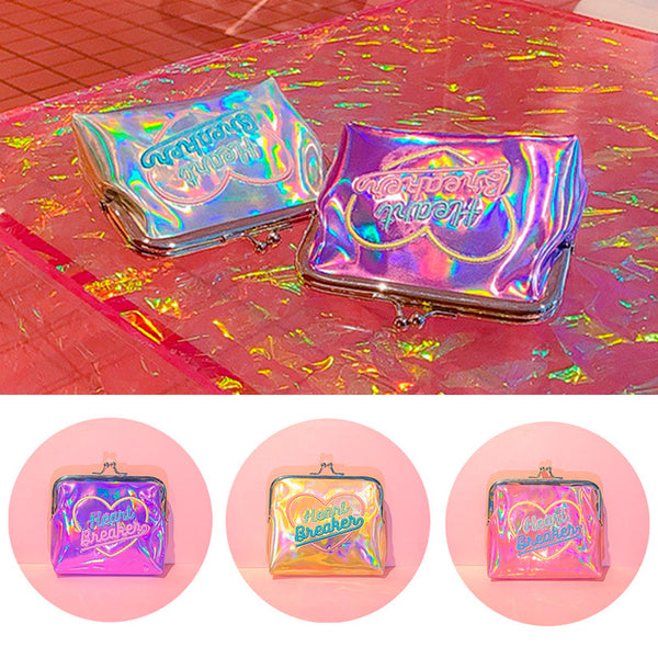 Bentoy Girl's Laser Candy Wallet