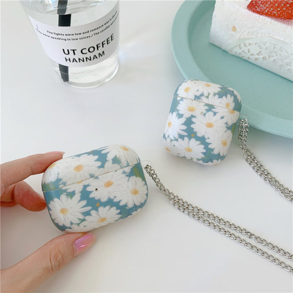 Oil Painting Daisies Airpods Pro Case