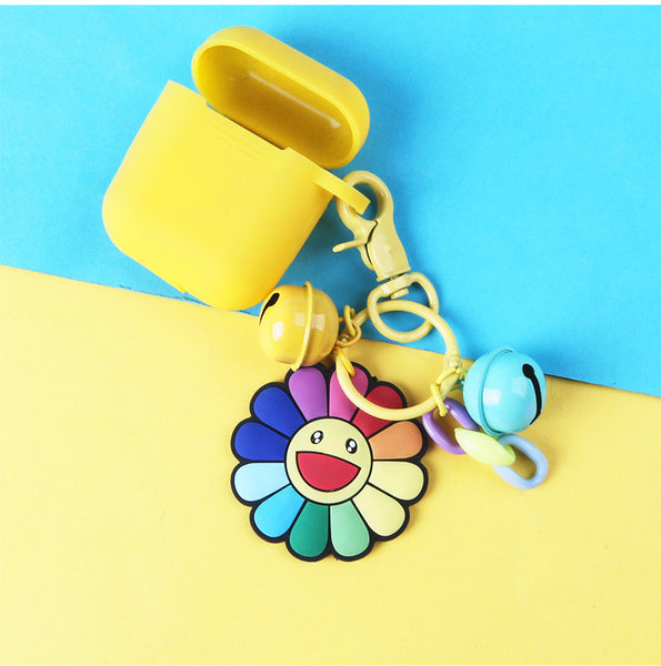 Kawaii Sunflower Keychain