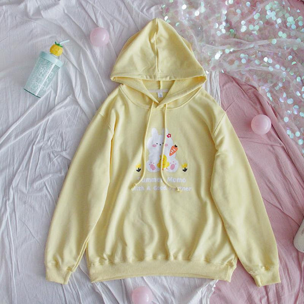 Rabbit Duck Carrot Hoodies