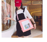 Multi-purpose Vitality Girl Tote Bag