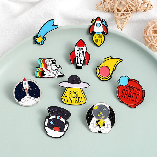 Mysterious Space Pins