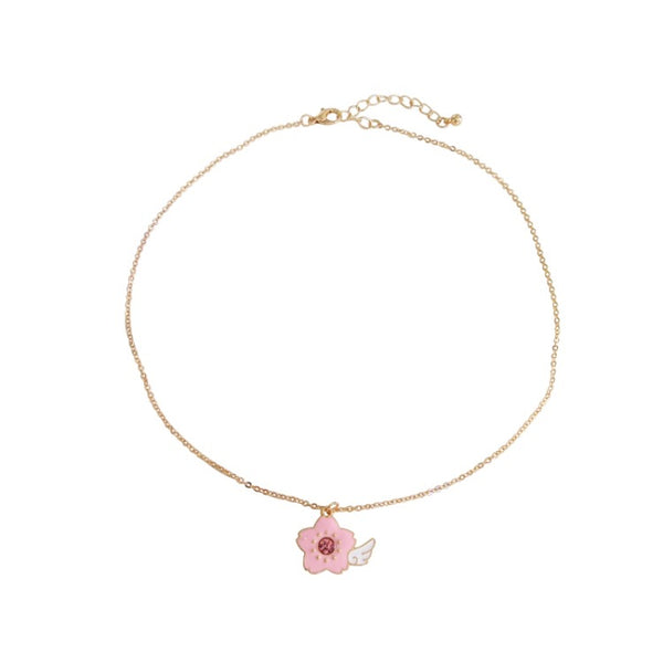Magic Sakura Clavicle Necklace