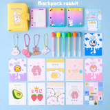 Korea PU mini notebook