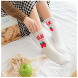 Strawberry Milk Socks