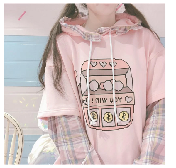 Slot Machine Good Luck Hoodie