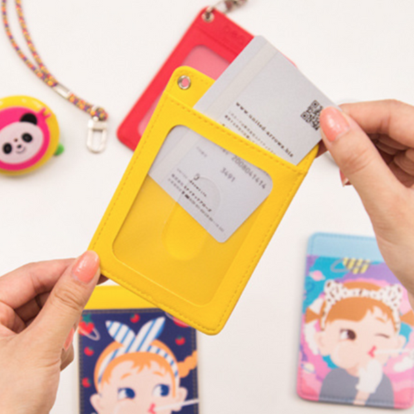 Milkjoy Rod stick  rope portable  card holder