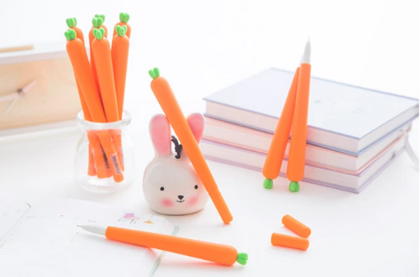 Organic Carrot Gel Pen-2pcs