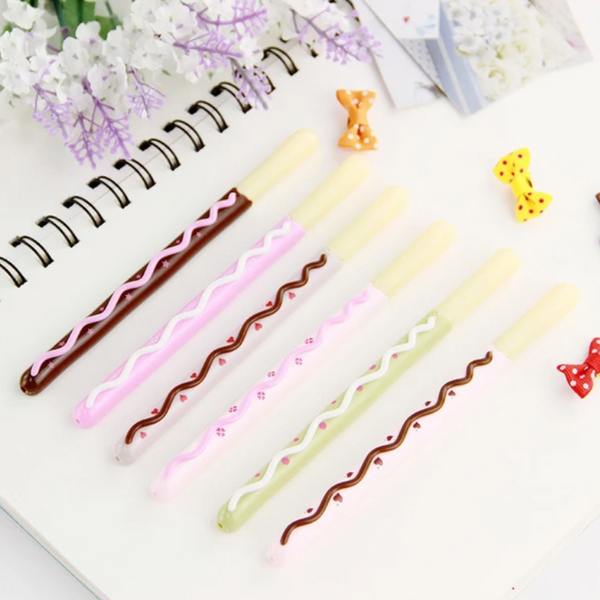 Chocolate Bar Gel Pen-2pcs