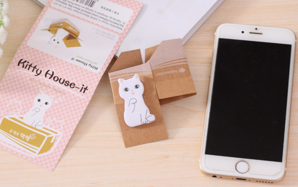 Korean Kitty Sticky Notes