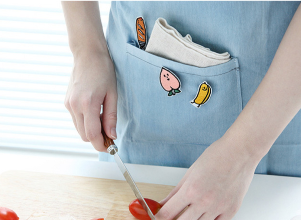 Milkjoy Cute Cartoon Badge Collar Brooch