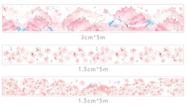 Mount Fuji Washi Tape Set
