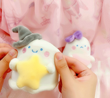 Kawaii Ghost Plush Pendant
