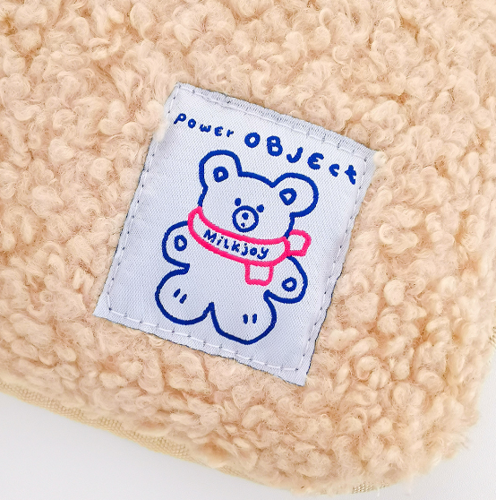 Bonjour Bear Plush Storage Bag